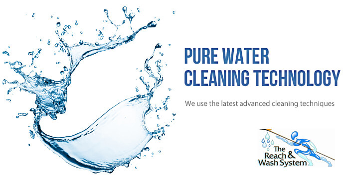 Pure Water Cleaning Technology Used By Cleaning Specialist