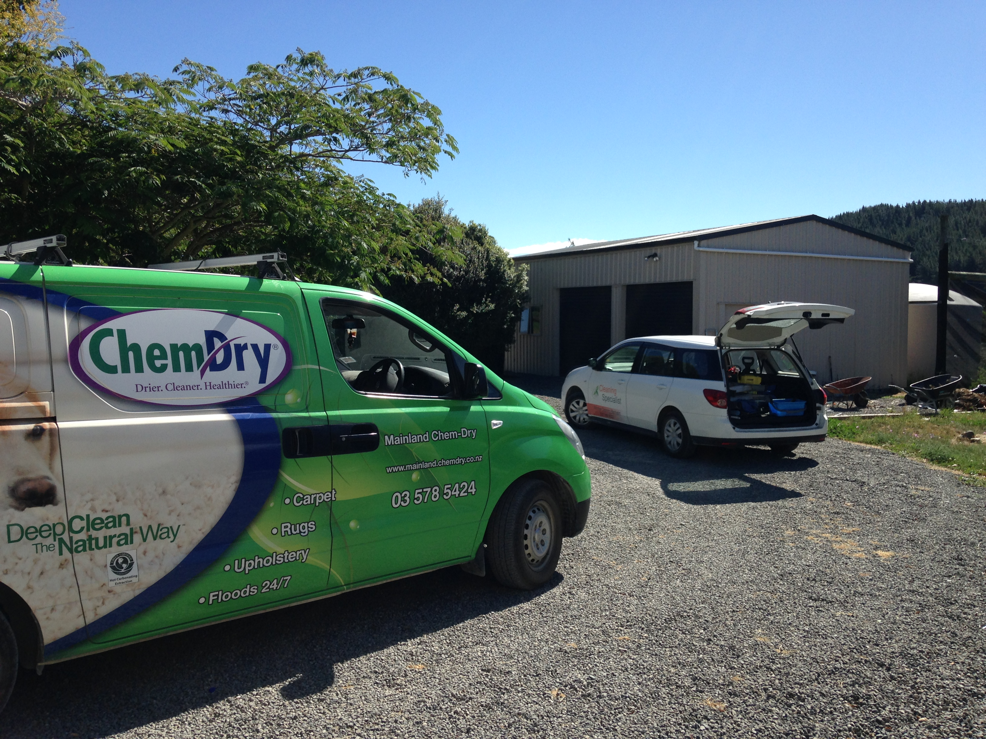 Mainland ChemDry Working With Cleaning Specialist Of Marlborough